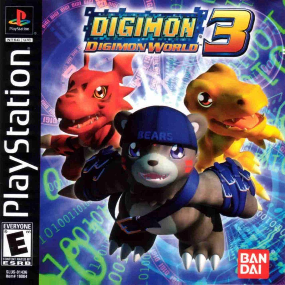Digimon World 3 PS1 Great Condition Fast Shipping