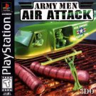 Army Men Air Attack PS1 Great Condition Complete Fast Shipping