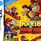 Mario Vs. Donkey Kong Mini Land Mayhem! Nintendo DS Great Condition Complete