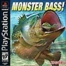 Monster Bass PS1 Great Condition Fast Shipping