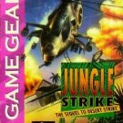 Jungle Strike Game Gear Great Condition Fast Shipping