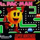 Ms. Pac Man SNES Great Condition Fast Shipping