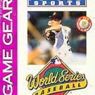 World Series Baseball '95 Game Gear Great Condition