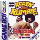 Ready 2 Rumble Boxing Gameboy Color Fast Shipping