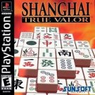 Shanghai True Valor PS1 Great Condition Complete