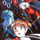 Escaflowne Vol. 4 Past And Present DVD Great Condition Complete