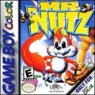 Mr. Nutz Gameboy Color Great Condition Fast Shipping