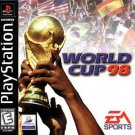 World Cup 98 PS1 Great Condition Fast Shipping