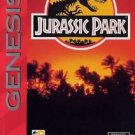 Jurassic Park Sega Genesis Great Condition Fast Shipping
