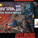 Contra 3 The Alien Wars SNES Great Condition Fast Shipping