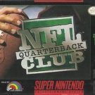 NFL Quarterback Club SNES Great Condition Fast Shipping