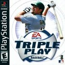 Triple Play Baseball PS1 Great Condition Complete Fast Shipping