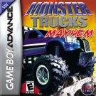 Monster Trucks Mayhem GBA Great Condition Fast Shipping