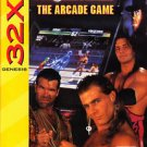 WWF Wrestlemania The Arcade Game Sega 32X Great Condition Fast Shipping
