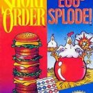 Short Order/Eggsplode NES Great Condition Fast Shipping