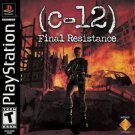 C-12 Final Resistance PS1 Great Condition Complete Fast Shipping