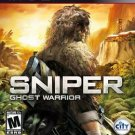 Sniper Ghost Warrior PS3 Great Condition Complete Fast Shipping