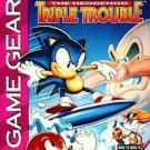 Sonic Triple Trouble Game Gear Great Condition Fast Shipping
