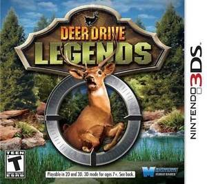 Deer Drive Legends Nintendo 3DS Great Condition Complete Fast Shipping