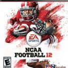 NCAA Football 12 PS3 Great Condition Complete Fast Shipping