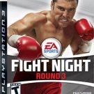 Fight Night Round 3 PS3 Great Condition Complete Fast Shipping