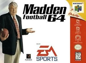 Madden Football 64 N64 Great Condition Fast Shipping