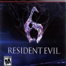 Resident Evil 6 PS3 Great Condition Complete Fast Shipping
