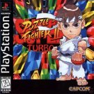 Super Puzzle Fighter 2 Turbo PS1 Great Condition Complete Fast Shipping