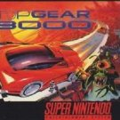Top Gear 3000 SNES Great Condition Fast Shipping