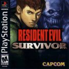Resident Evil Survivor PS1 Great Condition Fast Shipping
