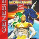 King Of The Monsters 2 Sega Genesis Great Condition Fast Shipping