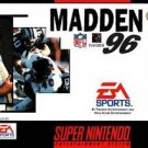 Madden NFL 96 SNES Great Condition Fast Shipping