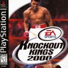 Knockout Kings 2000 PS1 Great Condition Complete Fast Shipping