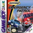 Matchbox Emergency Patrol Gameboy Color Great Condition Fast Shipping
