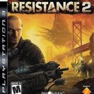 Resistance 2 PS3 Great Condition Fast Shipping