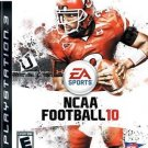 NCAA Football 10 PS3 Great Condition Fast Shipping