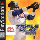 Triple Play 2000 PS1 Great Condition Complete Fast Shipping