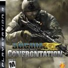 Socom U.S. Navy Seals Confrontation PS3 Great Condition Complete Fast Shipping