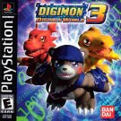 Digimon World 3 PS1 Great Condition Complete Fast Shipping