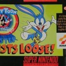 Tiny Toon Adventures Buster Busts Loose SNES Great Condition Fast Shipping