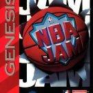NBA Jam Sega Genesis Great Condition Fast Shipping