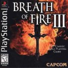 Breath Of Fire 3 PS1 Great Condition Fast Shipping