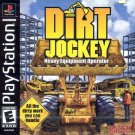 Dirt Jockey Heavy Equipment Operator PS1 Great Condition Complete Fast Shipping