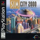 Sim City 2000 PS1 Great Condition Complete Fast Shipping