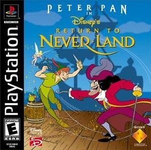 Peter Pan In Return To Never Land PS1 Great Condition Fast Shipping