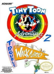 Tiny Toon Adventures 2 Trouble in Wackyland NES Great Condition Fast Shipping