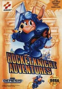 Rocket Knight Adventures Sega Genesis Great Condition Fast Shipping