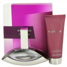 Euphoria Gift Set - 3.4 oz Eau De Parfum Spray + 3.4 oz Sensual Skin Lotion