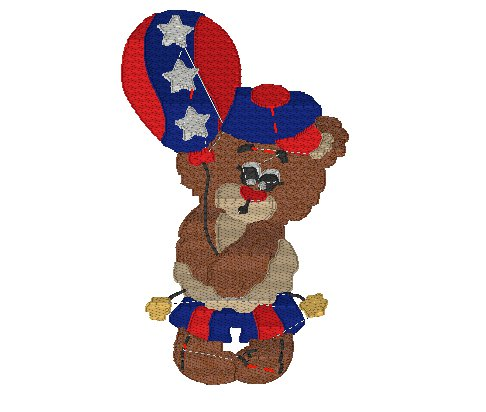 Memorial Teddy Bear Embroidery File