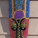 African Tiki Mask - African -  Bali Mask - Tribal Mask